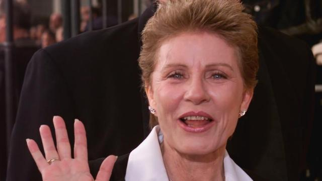 Actress Patty Duke arrives at the 7th annual Screen Actors Guild Awards at the Shrine Auditorium in Los Angeles